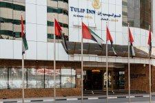 Отель Tulip Inn Al Khan Hotel Sharjah 4*