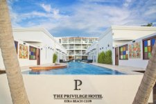 Отель The Privilege Hotel Ezra Beach Club 4*+