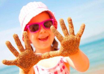 Супер-пляж для детей открылся в Евпатории