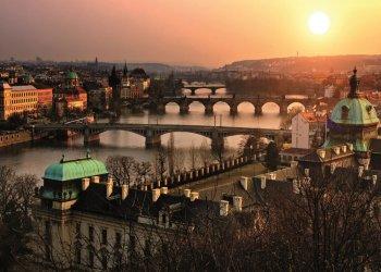 Прага как на ладони