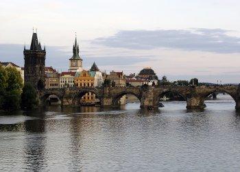 Прага - популярная столица для туристов