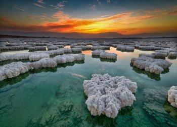 Уникальное лечебное Мертвое море