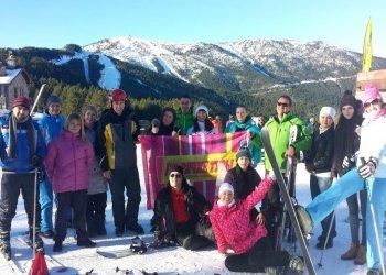«Горячие туры» на горнолыжных склонах